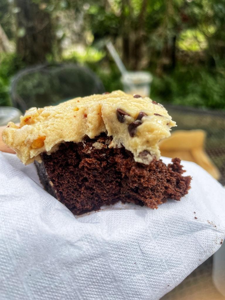 Inside of Brownie