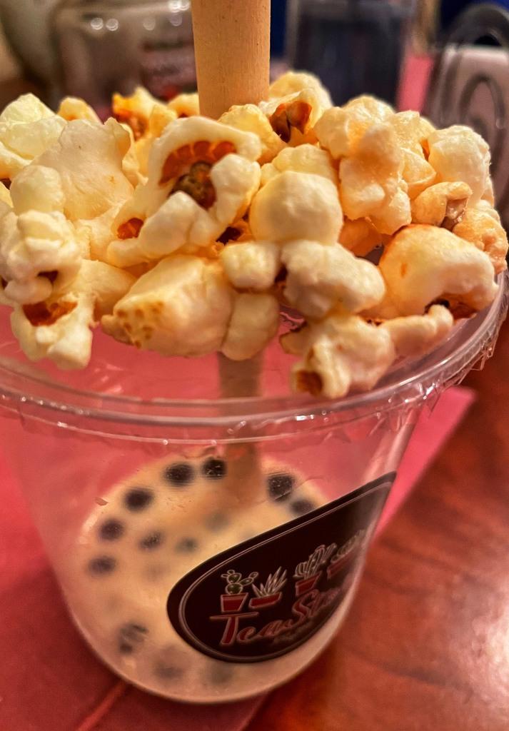 Caramel Popcorn on Top