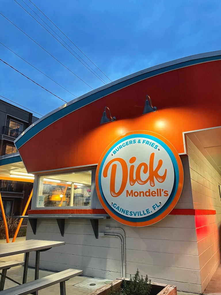 Dick Mondell's Burger and Fries