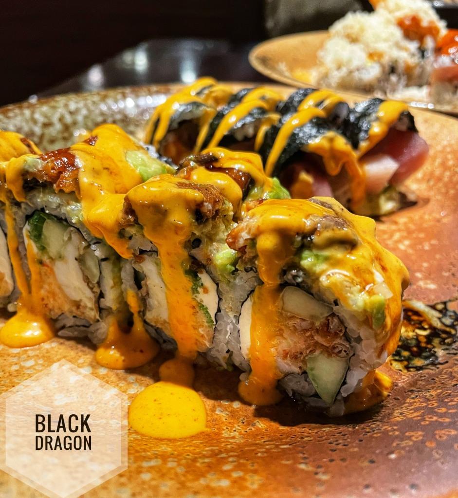 Black Dragon roll