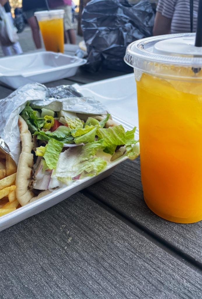 Mango Lemonade is a must!