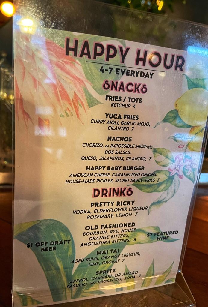 Happy Hour Deals