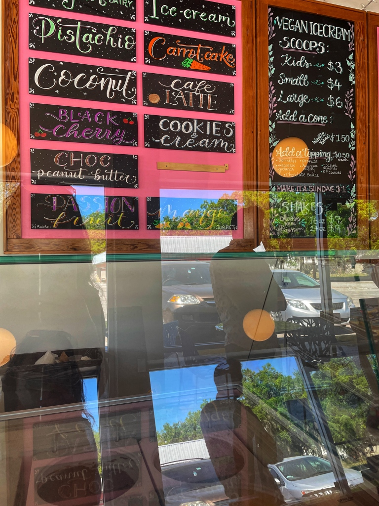 Ice cream flavors and prices