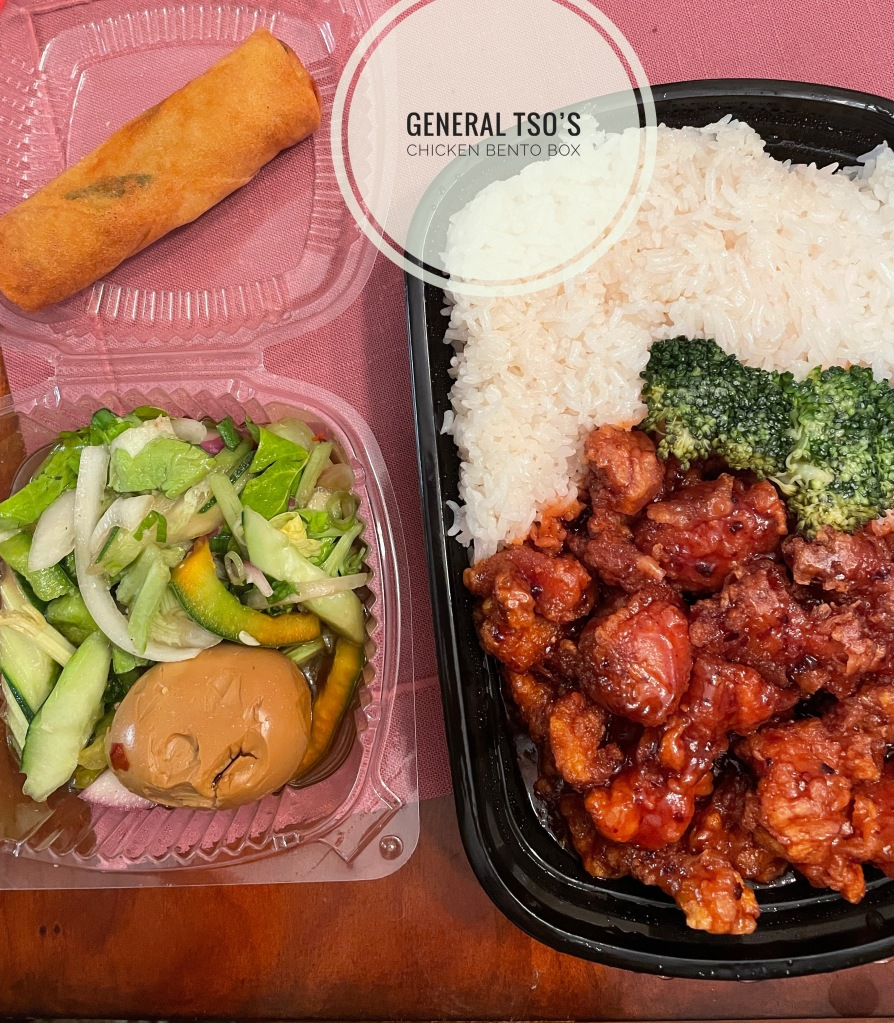 General Tso's Chicken Bento Box