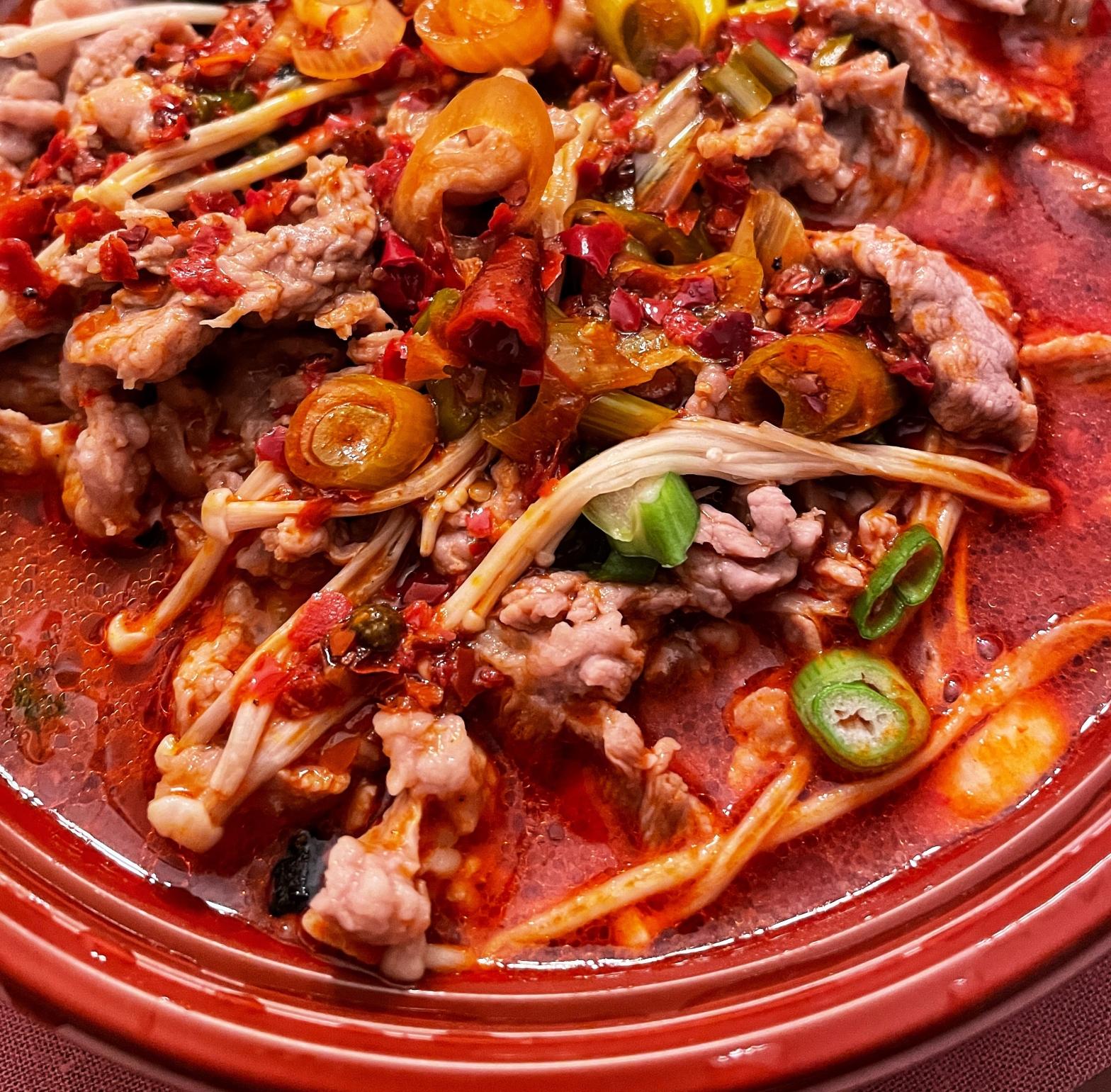 Lamb Mala Sichuan Noodles