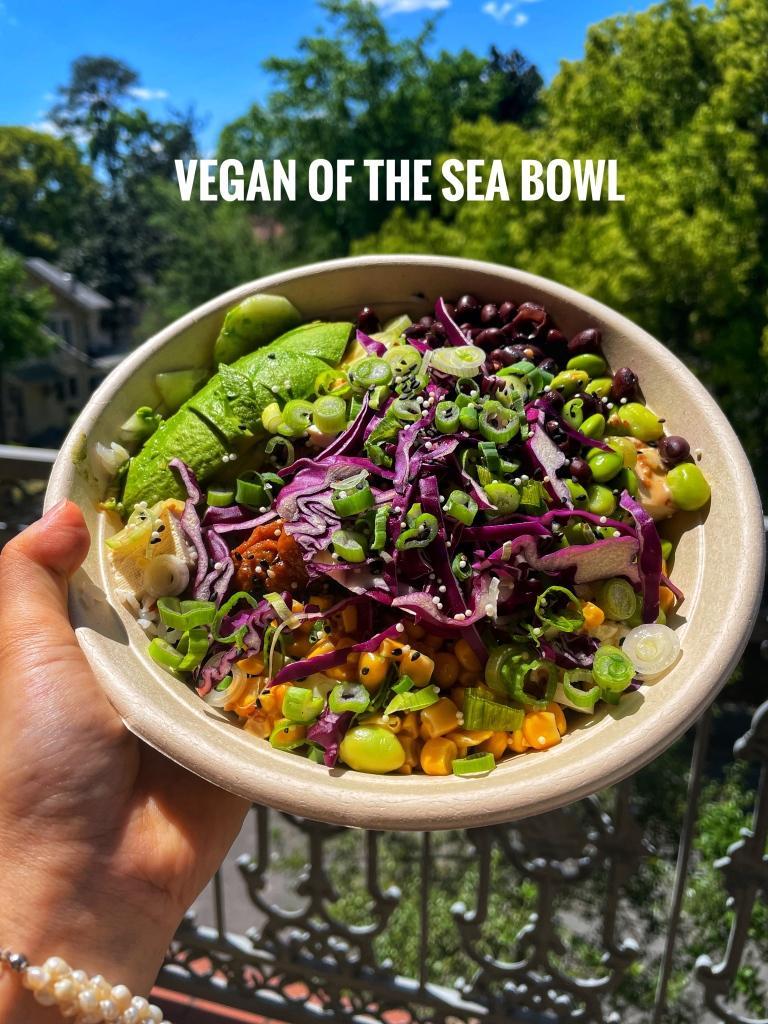 Vegan of  the Sea Bowl