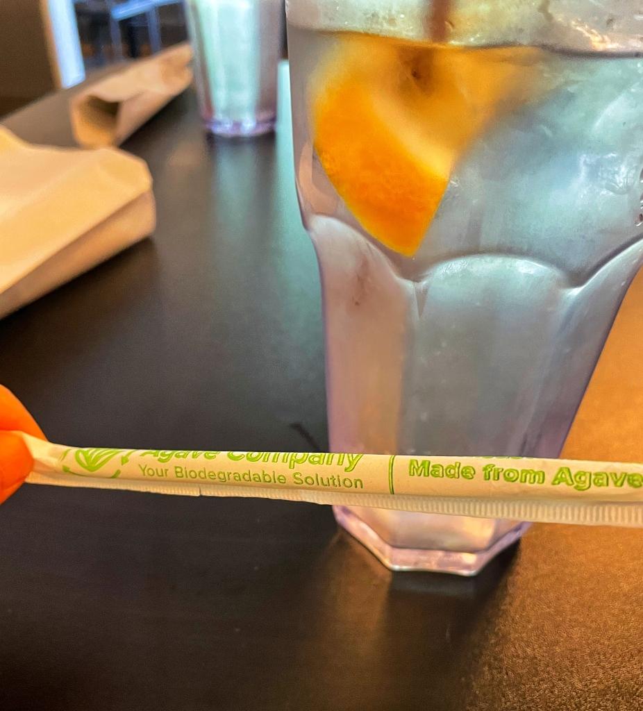 Agave straw