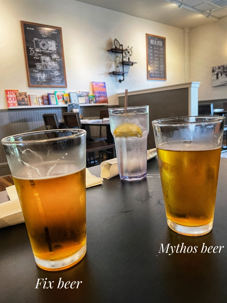 Fix beer and Mythos beer