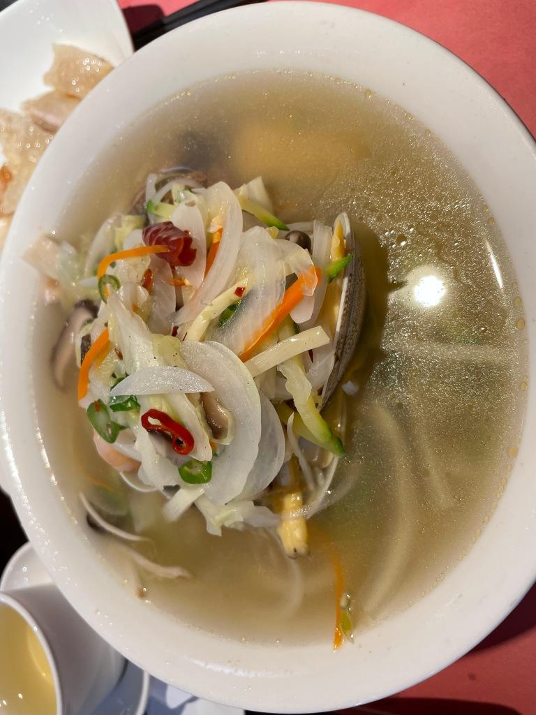 Sichuan-style noodle soup