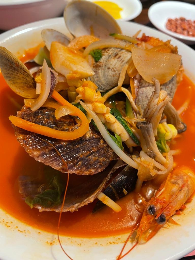 Seafood Jjamppong