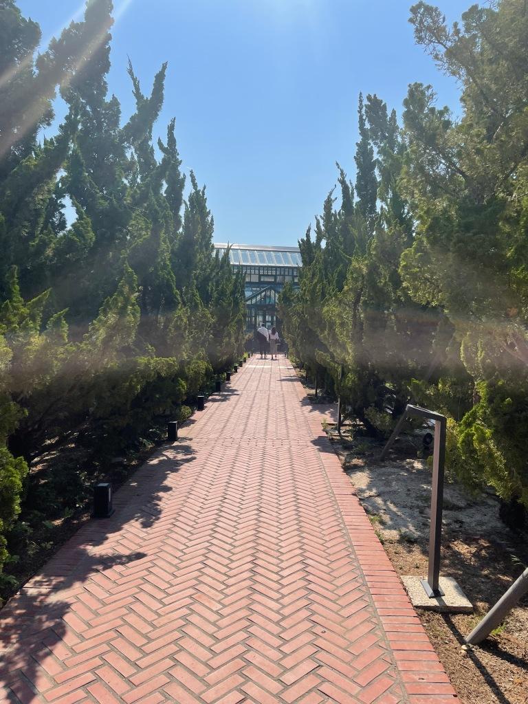 Path to Oedo Nursery