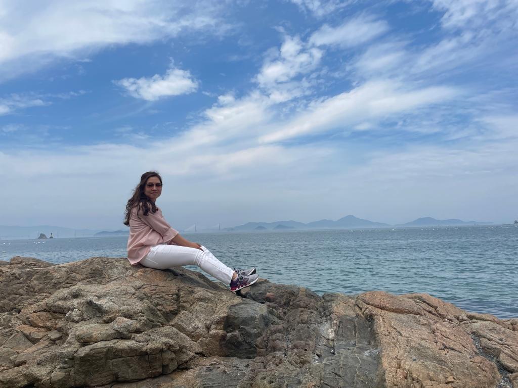 Wonderful view of the ocean!