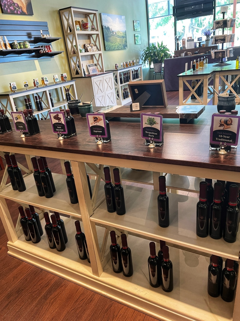 Balsamic vinegar choices