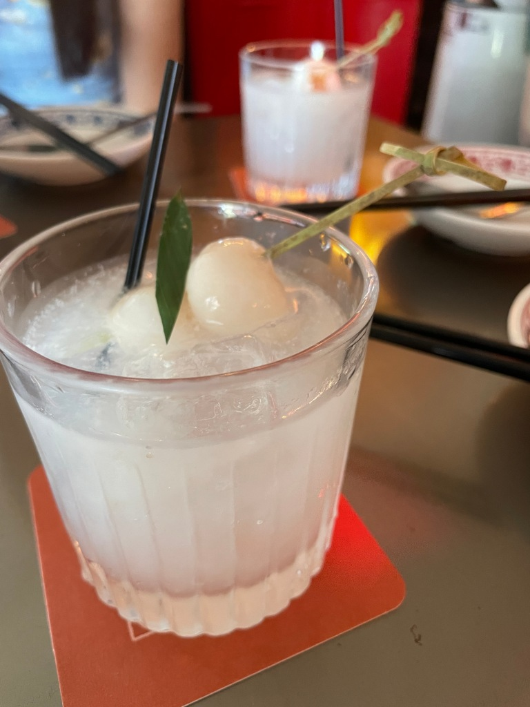 Lychee Gin and Tonic