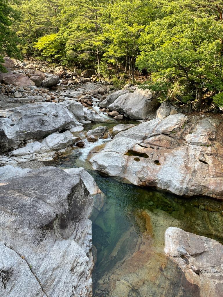 Beautiful streams at Jiri mountain!