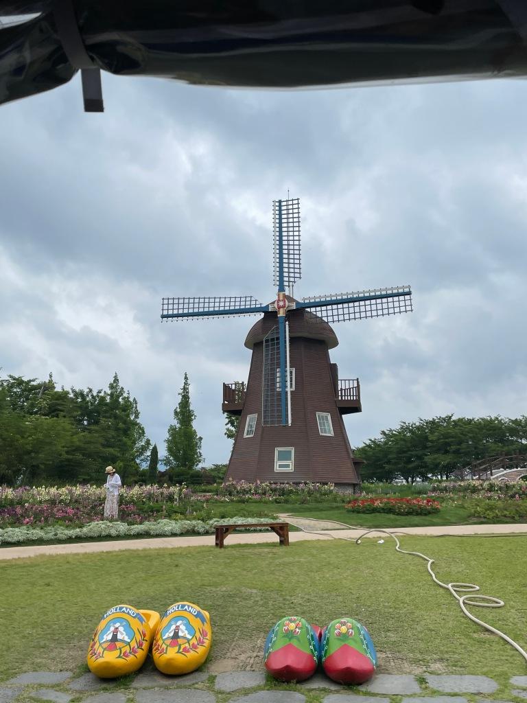 Netherlands inspired garden
