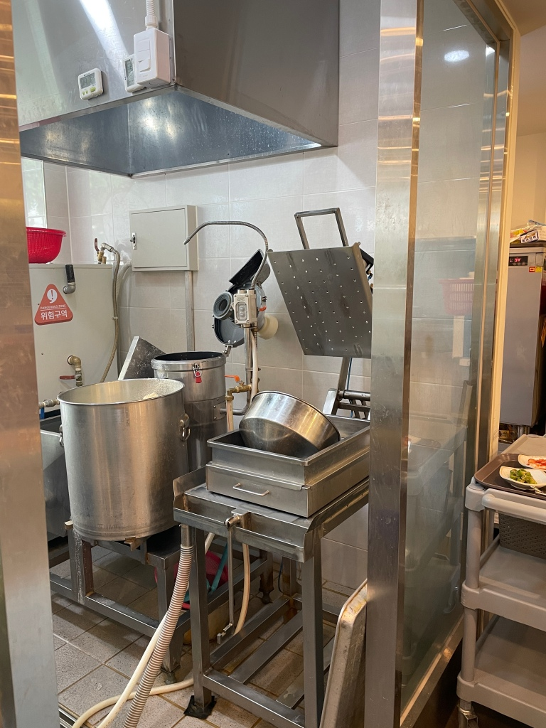 Machinery for tofu