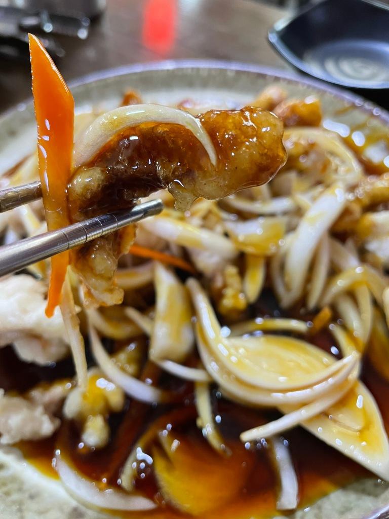 Slice of tangsooyook