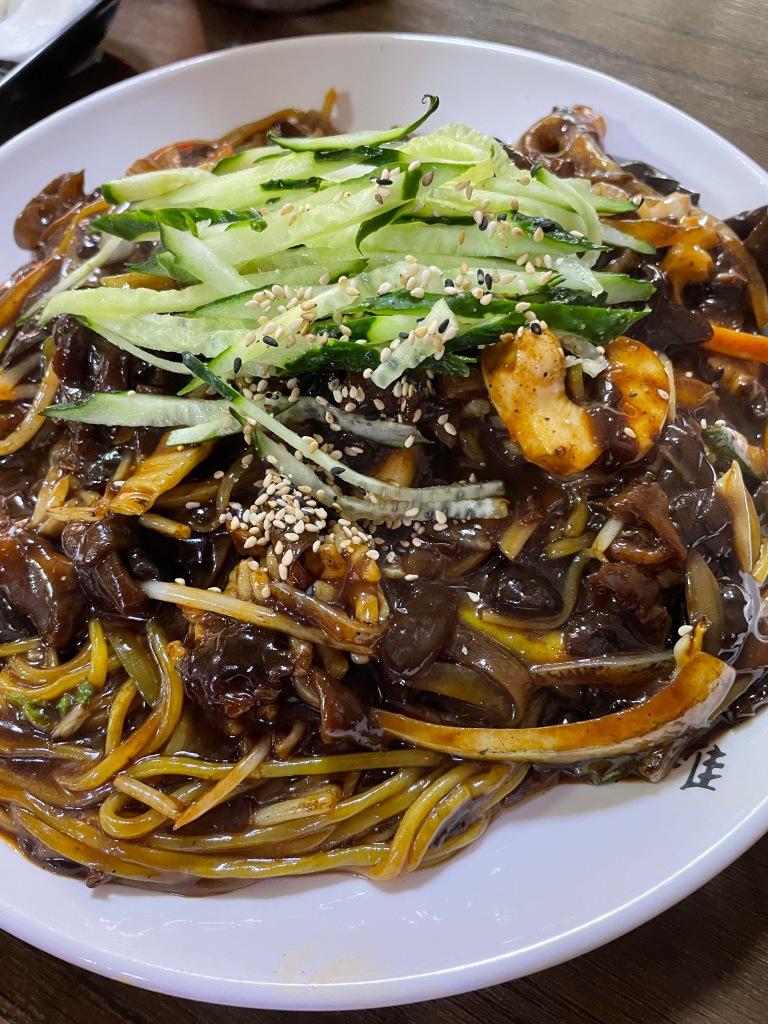 Seafood Jjajangmyun