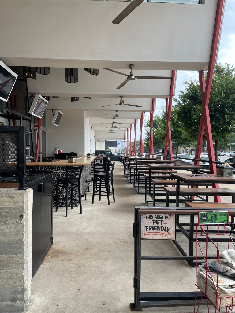 Torchy's (South Congress location) outdoor seating