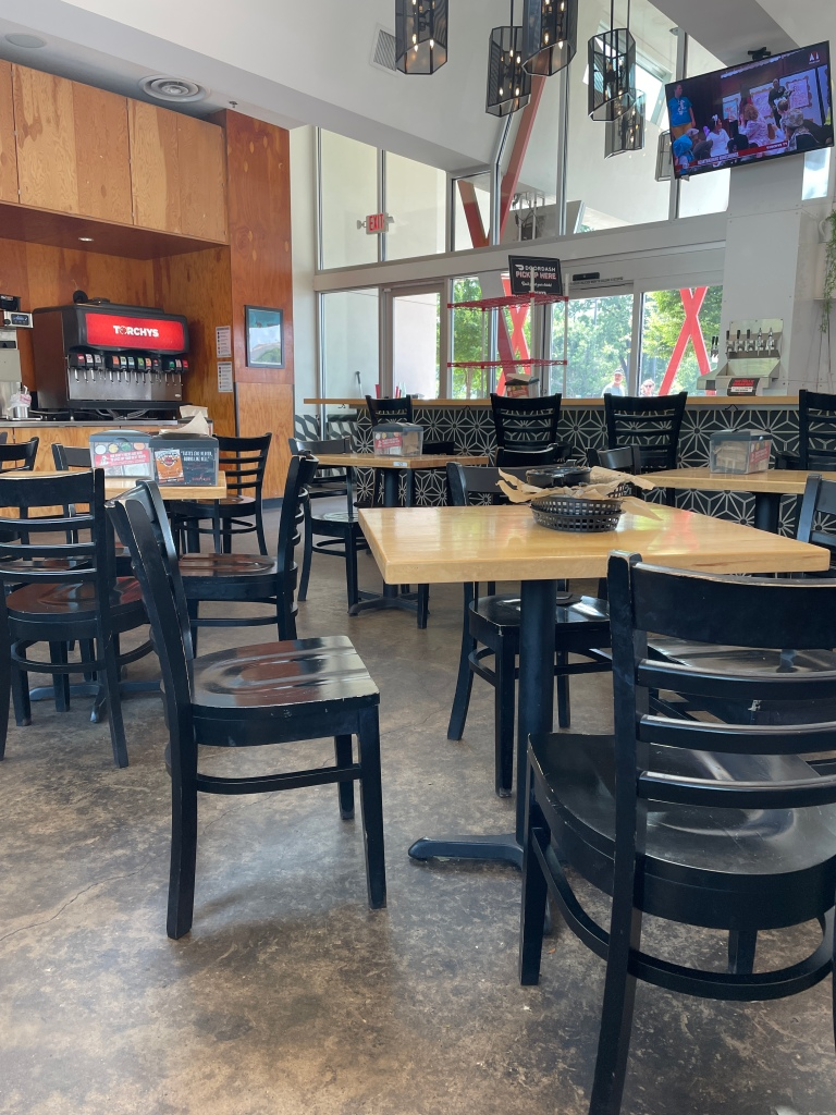 Torchy's (South Congress location) Indoor seating