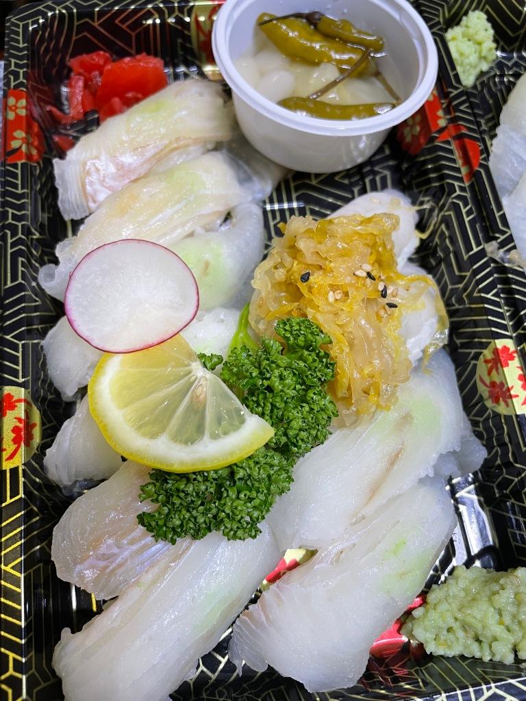 Flatfish sushi