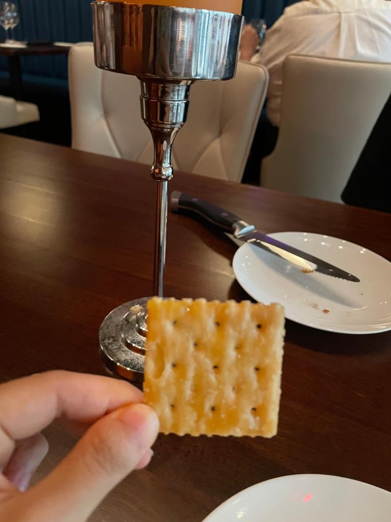 Crackers were surprisingly good!
