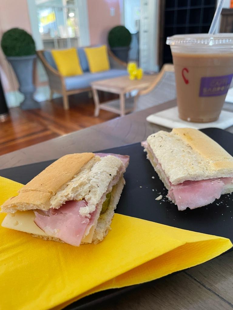 Cuban sandwich slider